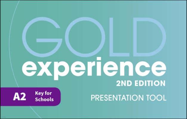Gold Experience 2nd Edition A2 Teacher's Presentation Tool USB