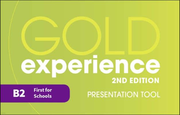 Gold Experience 2nd Edition B2 Teacher's Presentation Tool USB