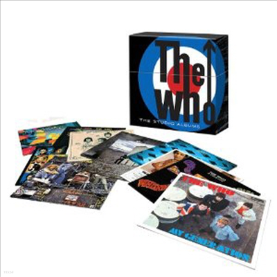 Who - The Studio Albums (Remastered)(180g)(14LP Limited Box Set)