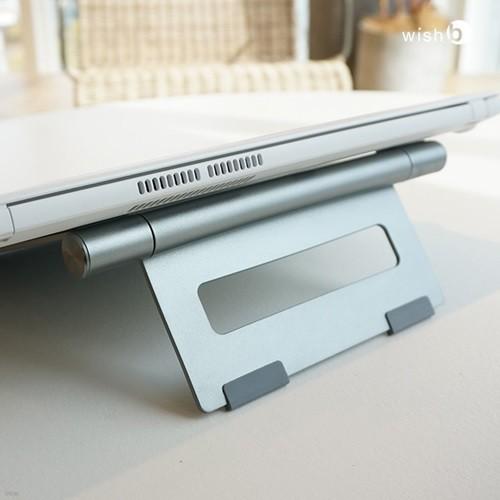 알루미늄 메탈 노트북 접이식 거치대 스탠드 LS100
