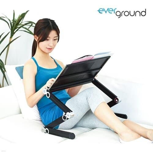 에버그라운드 각도조절데스크/노트북책상/침대책상