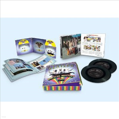 Beatles - Magical Mystery Tour (Limited Deluxe Edition)(Blu-ray+DVD+7 Inch 2LP+60 Page Booklet)(2012)
