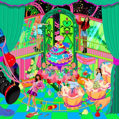 레드벨벳 (Red Velvet) - 리패키지앨범 : The ReVe Festival 'Finale' [Scrapbook ver.]