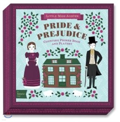 Pride & Prejudice: A Babylit(r) Counting Primer Board Book and Playset