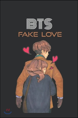 BTS Fake Love Paperback Journal: K-pop 110 Lined Pages Journal & Notebook, Kpop accessories, Kpop gift, unique gifts for teenage girls (K-pop: Lovers,
