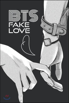Fake Love BTS Paperback Journal: K-pop 110 Lined Pages Journal & Notebook, Kpop accessories, Kpop gift, unique gifts for teenage girls (K-pop: Lovers,