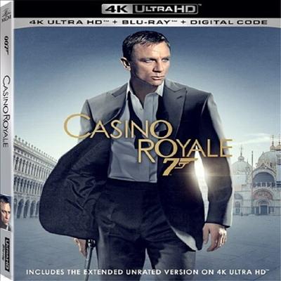 Casino Royale (007 카지노 로얄) (4K Ultra HD+Blu-ray)(한글무자막)