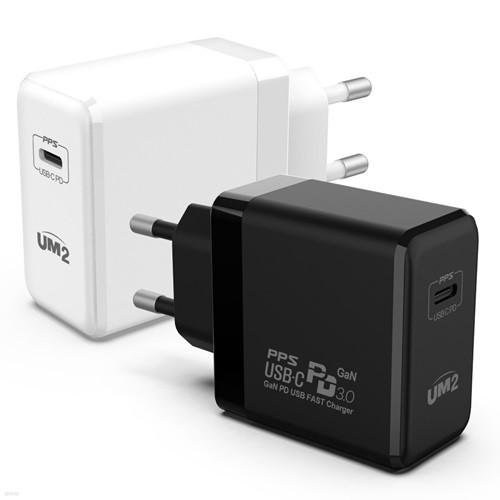 UM2 GAN PD 65W C타입 PD 초고속충전기 PPS 노트북 맥북프 닌텐도 스위치 삼성 노트10 플러스 아이폰 아이패드 프로