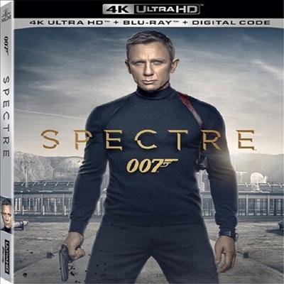 Spectre (007 스펙터)(한글무자막)(4K Ultra HD+Blu-ray)