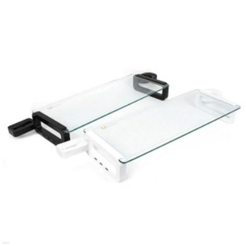 유보드 모니터받침대(스마트) 160 센스데스크오거나이저  / USB포트3개(55.5*21)