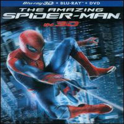 The Amazing Spider-Man (어메이징 스파이더맨 3D) (한글무자막)(Blu-ray 3D) (2012)