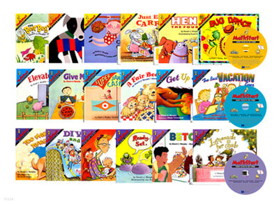 [21종 구성] 영어 수학 동화 세트 (NEW) 18권 + 오디오 CD 3장 (Book & CD)