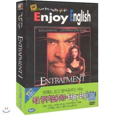 엔트랩먼트 (Entrapment)- Enjoy English (영어학습용DVD+교재)