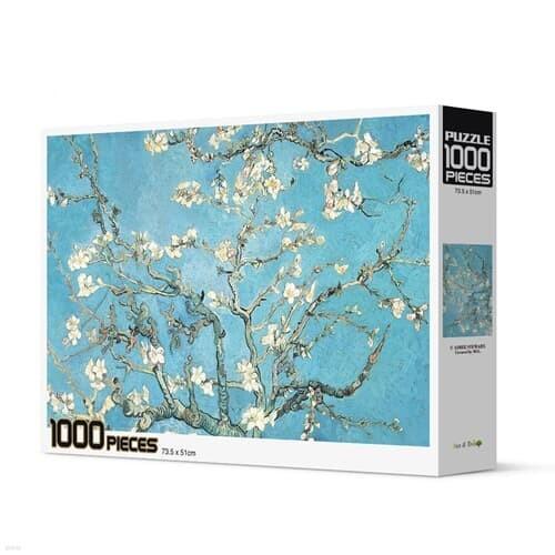 [액자포함]직소퍼즐 1000조각 명화 아몬드 나무 HP1000-1021