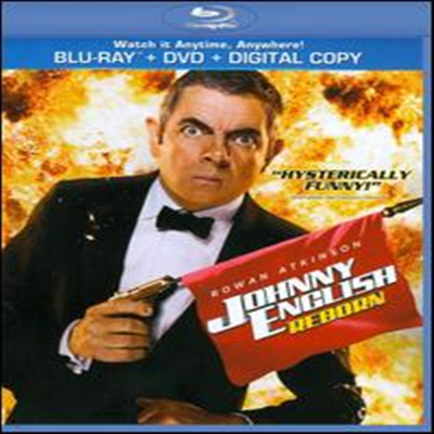 Johnny English Reborn (쟈니 잉글리쉬2 : 네버다이) (한글무자막)(Blu-ray) (2011)