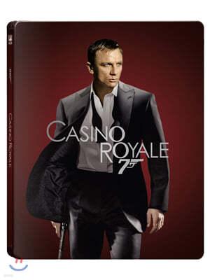 007 카지노 로얄 (2Disc 4K UHD + 2D 스틸북 한정판) : 블루레이