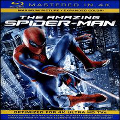 The Amazing Spider-Man (어메이징 스파이더맨) (Mastered in 4K)(한글무자막)(Single-Disc Blu-ray+Ultra Violet Digital Copy) (2012)