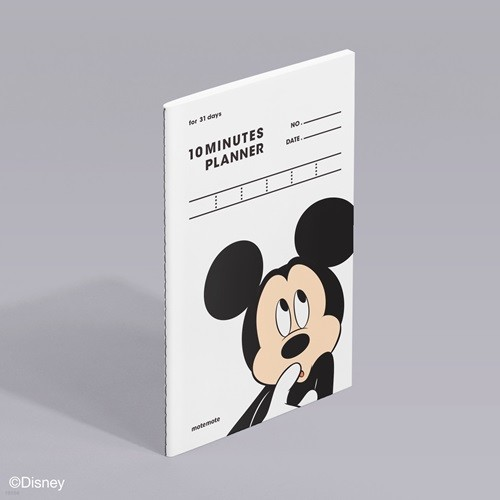 [모트모트] 디즈니 텐미닛 플래너 31DAYS - 미키