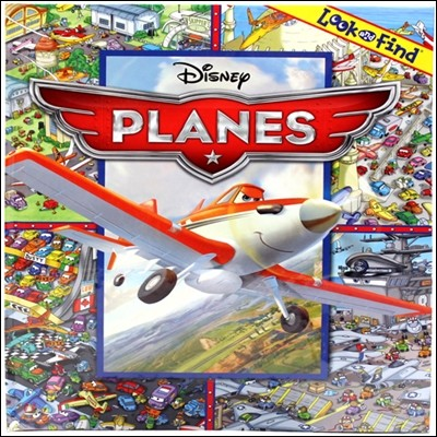 Look and Find Disney Planes