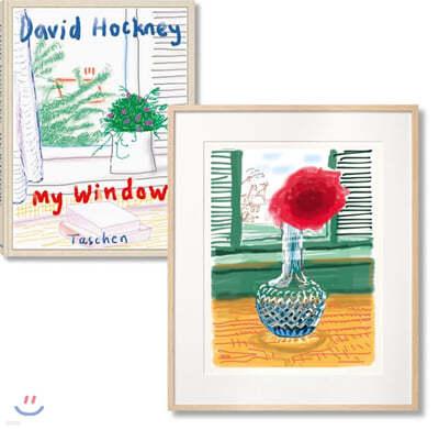 David Hockney : My Window. Art Edition. B (No. 251-500) No. 281 : 데이비드 호크니 아트 에디션 B