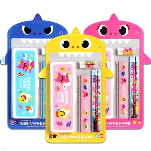 핑크퐁 아기상어 문구세트/어린이 학용품 문구세트