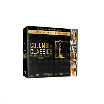 Columbia Classics 4K Ultra HD Collection (Mr. Smith Goes to Washington / Lawrence of Arabia / Dr. Strangelove / Gandhi / A League of Their Own / Jerry Maguire) (스미스씨 워싱톤 가다/아라비아의 로렌스/