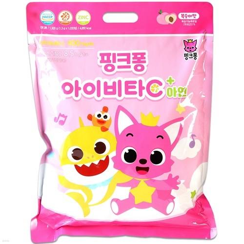핑크퐁 아이비타C+아연 1000정/유아동 비타민