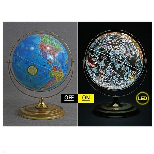 [맵소프트]30cm 별자리 데스크 타임 지구본
