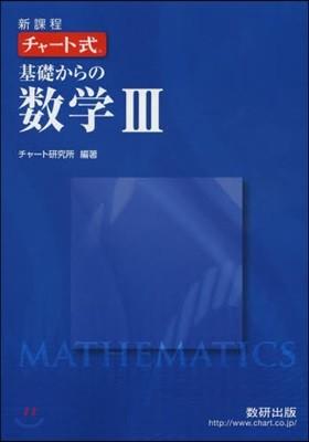 チャ-ト式 基礎からの數學3 新課程