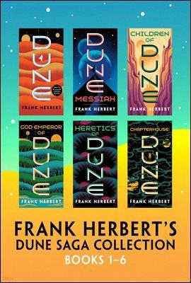 Frank Herbert's Dune Saga Collection