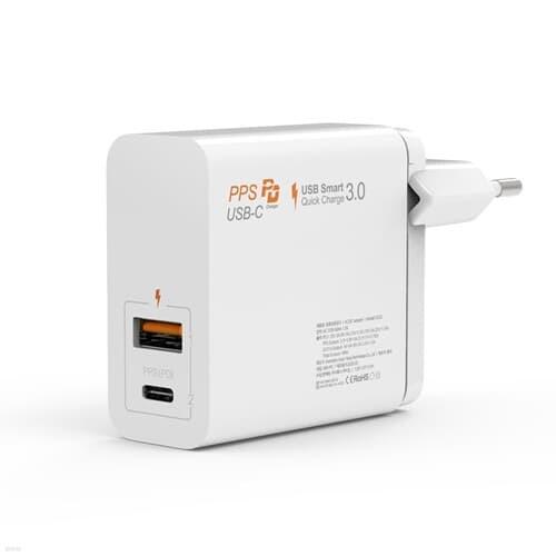 주파집 USB PD 퀵차지 아이폰 C타입 멀티 듀얼 고속충전기 48W