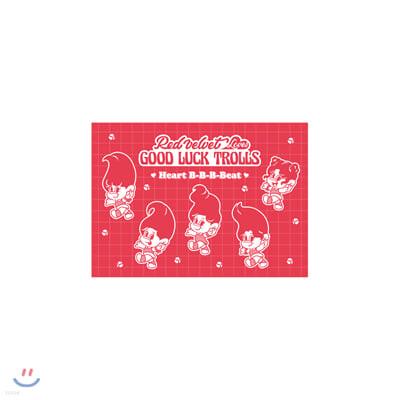 레드벨벳(Red Velvet Loves GOOD LUCK TROLLS) - EPOXY POSTCARD