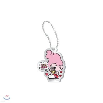 레드벨벳(Red Velvet Loves GOOD LUCK TROLLS) - ACRYLIC CHARM_PINK