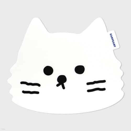 Awesome cat-white(마우스패드)