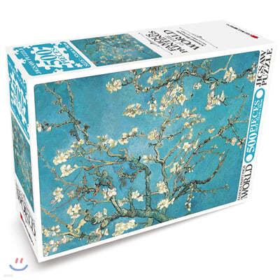 세계의 명화 직소퍼즐 500pcs 꽃피는 아몬드나무