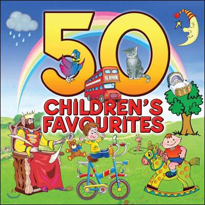 50곡의 인기 영어 동요 모음집 (50 Children's Favourites)