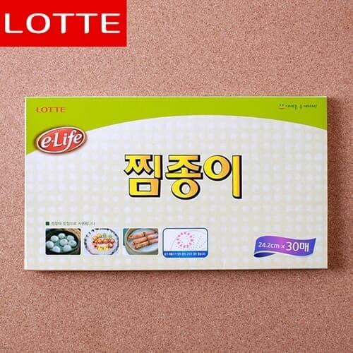 롯데 찜종이 위생용품 주방용품 친환경제품
