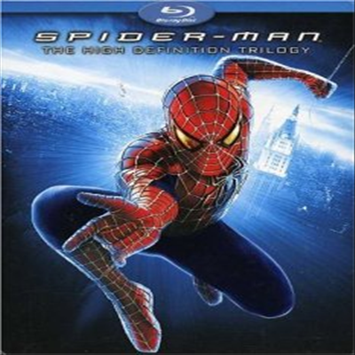 Spider-Man: The High Definition Trilogy (스파이더맨) (Spider-Man / Spider-Man 2 / Spider-Man 3) (한글무자막)(4Blu-ray) (2006)