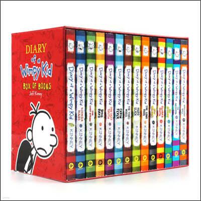 Diary of a Wimpy Kid Box of Books 1-14 : 윔피키드 원서 14권 박스 세트 (미국판)