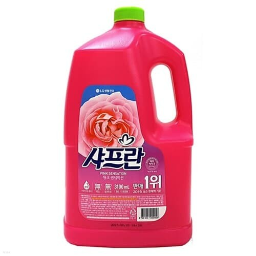 LG생활)샤프란핑크(리필/1300㎖)박스(10개입)