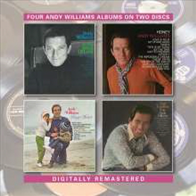 Andy Williams - In The Arms Of Love/Honey/Happy Heart/Get Together With (Remastered)(4 On 2CD)