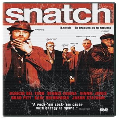 Snatch (스내치) (2000)(지역코드1)(한글무자막)(DVD)