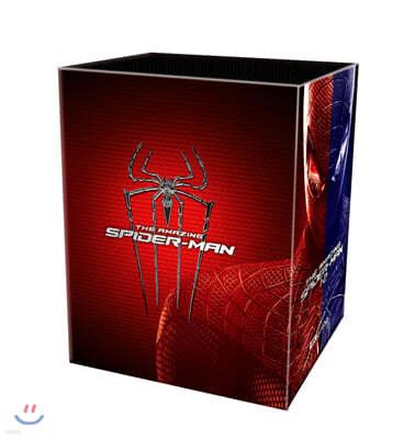 어메이징 스파이더맨 1+2 (12Disc 4K UHD 원클릭 박스 스틸북 한정판) : 블루레이