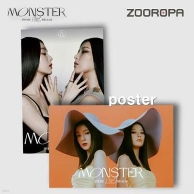 [포스터/미개봉] 레드벨벳 아이린 슬기 Monster Base Note (브로마이드1장+지관통)