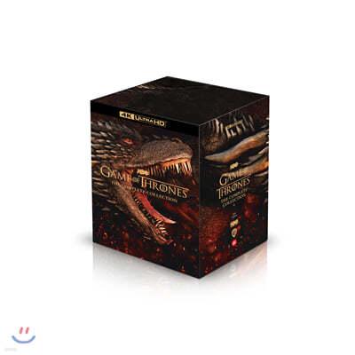 왕좌의 게임 컴플리트 콜렉션 (30Disc 4K UHD) : 블루레이