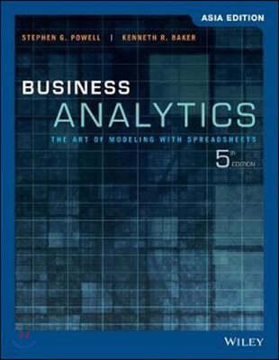 Business Analytics, 5/E