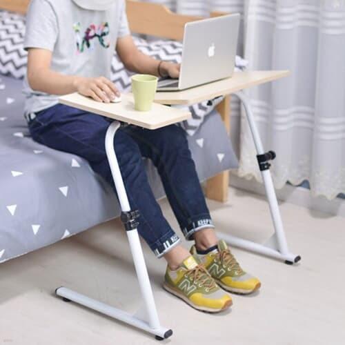 접이식 높이조절 노트북 테이블 2color