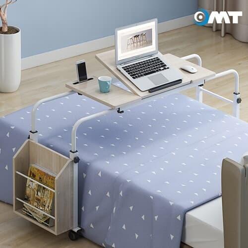 이동식 침대 높이 폭조절 사이드 베드테이블 400*800~1200