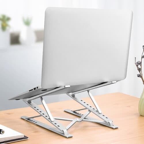 휴대용 접이식 15단 각도조절 알루미늄 노트북거치대