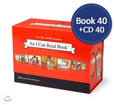 [I Can Read] 아이캔리드 2단계 B Full Set (Book 40 + CD 40)